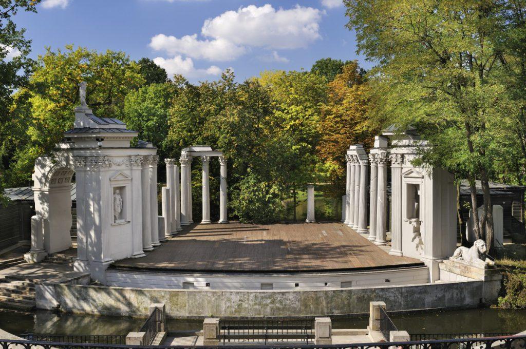 Amphitheater photo by Waldemar Panów