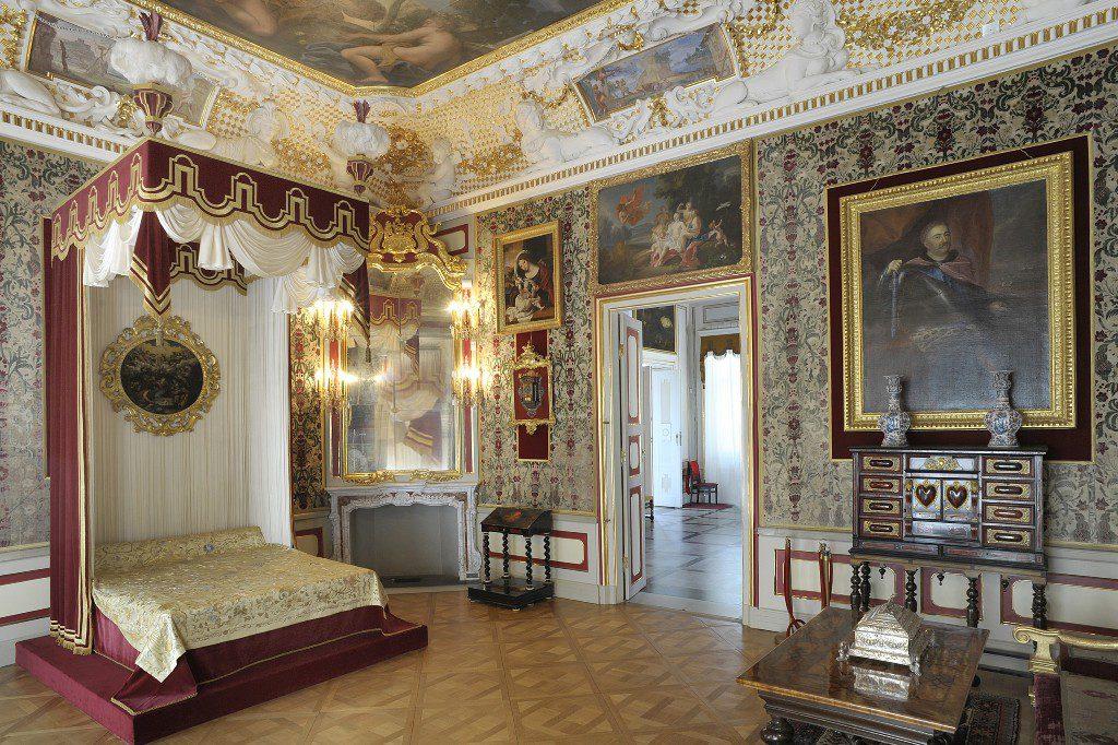 pałac w wilanowie Apartamenty króla Jana III