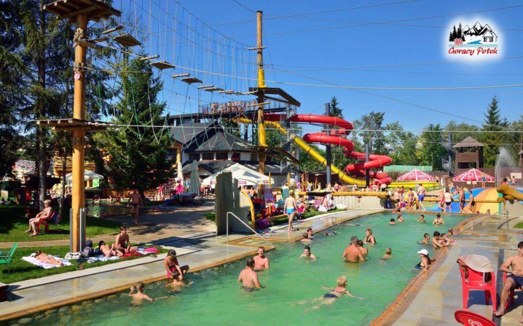 Rope Park in Termy Gorący Potok