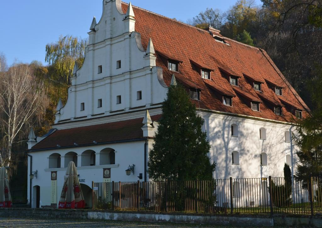 The granary at the end of ul. Cracow