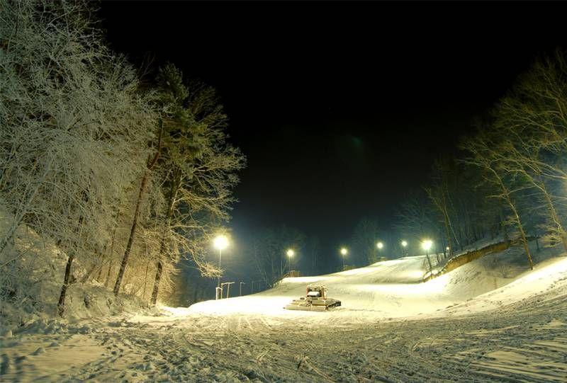 Ski lift lower kazimierz